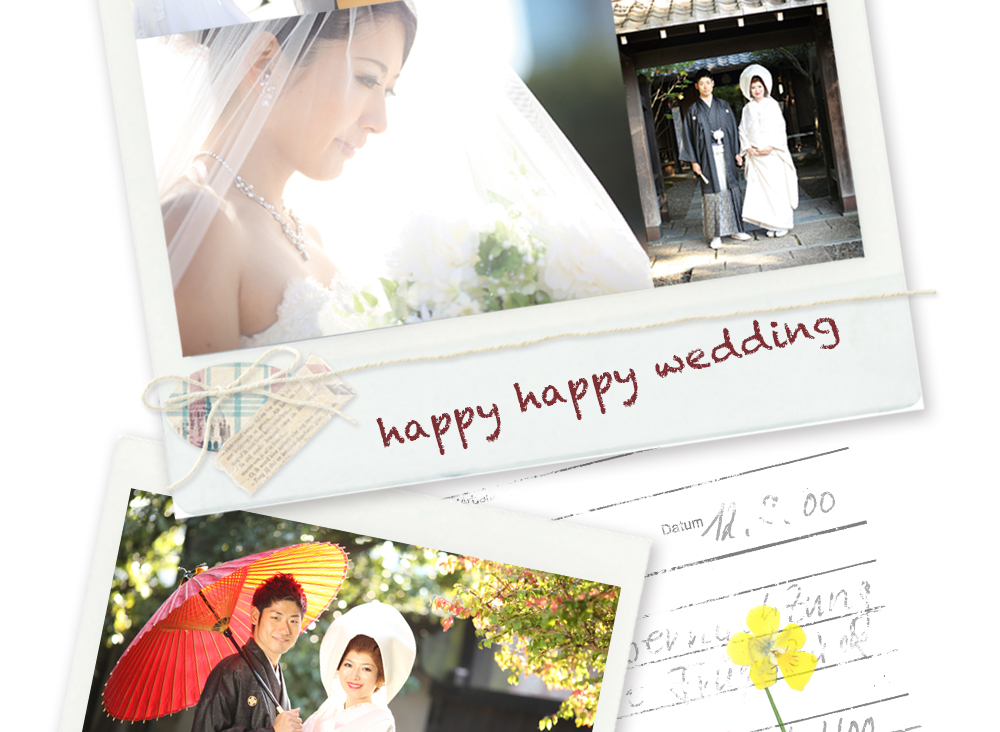 happy happy wedding