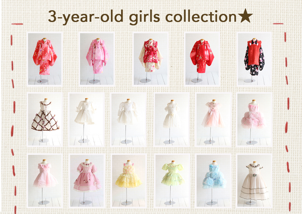 3-year-old,girls,collection